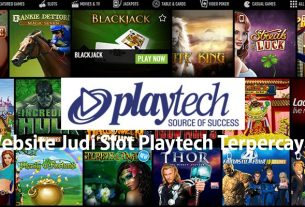 Website Judi Slot Playtech Terpercaya